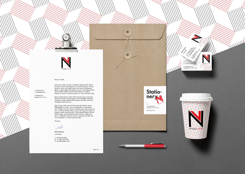 NOTABLE.VISION – Logo Design