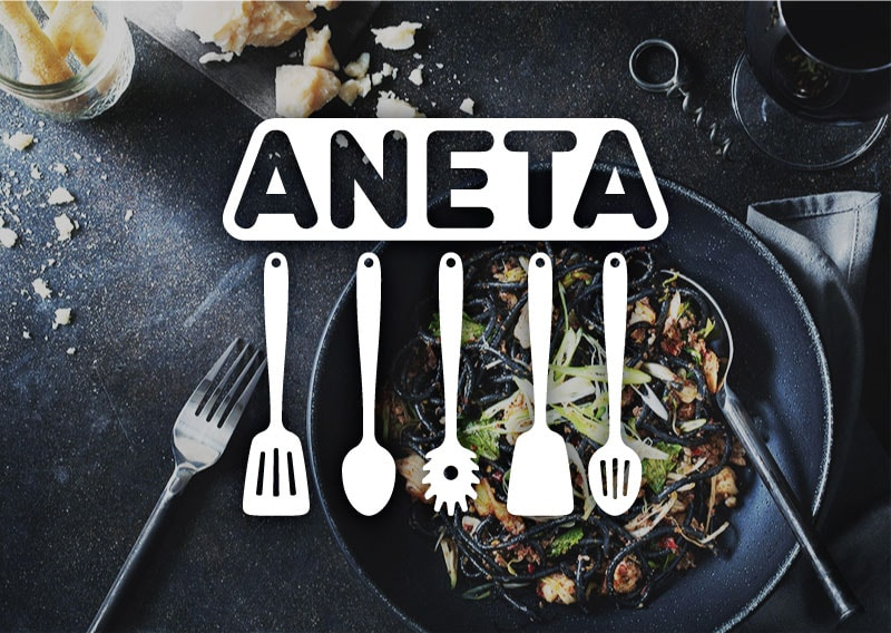 Aneta Culinary Recipes – Logo Design