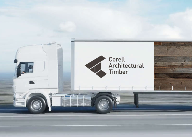 Corell Architectural Timber – Logo Design
